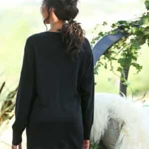 robe pull lola noir 1 1 300x300 - Robe Pull en cachemire